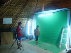 Learning how to light the Green Screen Screen